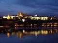 Praga di notte