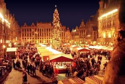 Visita ai mercatini di natale in belgio for Tradizioni di roma
